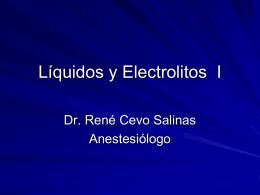Líquidos y Electrolitos I
