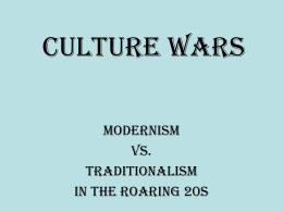 Culture Wars - Daniel Aaron Lazar