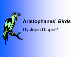 Aristophanes' Birds - Binghamton University