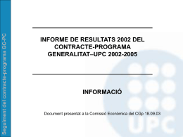 Model de distribució del finançament universitari