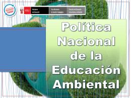 Proceso de implementación del enfoque ambiental