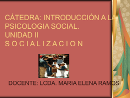 .socialización