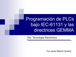 Diapositiva 1 - Departamento de Tecnología