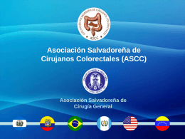 Asociación Salvadoreña de Cirujanos Colorectales