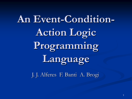A Principled Semantics for Logic Programs Updates