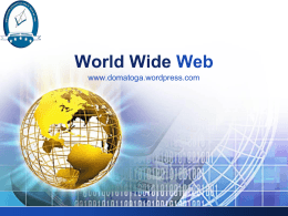 World Wide Web - Institución Educativa Los