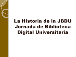 Curso Biblioteca Nacional Tensiones y desafíos en
