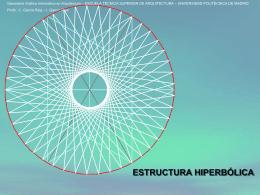 Estructura de barras Hiperbólica
