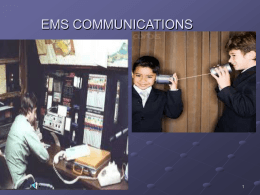EMS COMMUNICATIONS - Home | UW Health | Madison,