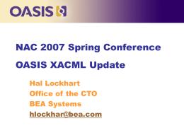 XACML TC Charter