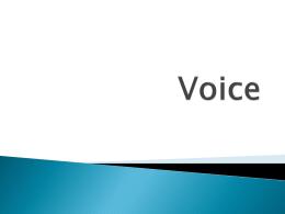 Voice - Montgomery County Schools