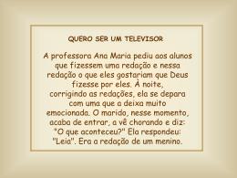 Quero ser um televisor
