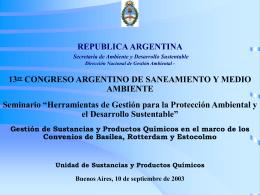 Taller Regional PNUMA/FAO sobre Reducción,