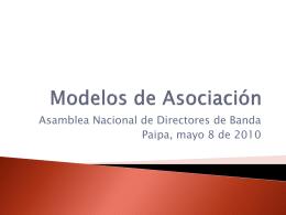 Modelos de Asociación