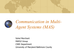 Communication in Multi