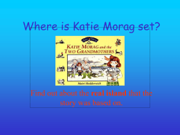 Where is Katie Morag set?