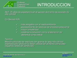 presentacion co-secado - AKT International Pty Ltd