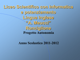 Liceo Scientifico Tecnologico