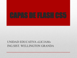 CONCEPTOS BÁSICOS DE FLASH CS5