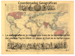 Proyecciones Geográficas