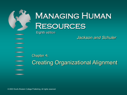 Managing Human Resources 8e