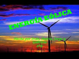 Energías Eólicas