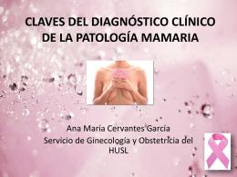 CLAVES DEL DIAGNÓSTICO CLÍNICO DE LA PATOLOGÍA