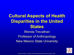 PowerPoint Presentation - Cultural Aspects of
