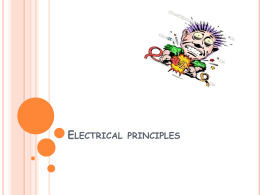 Electrical principles - Totton College