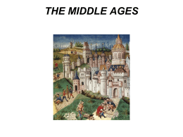 THE MIDDLE AGES - Georgetown ISD