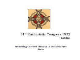 31st Eucharistic Congress 1932