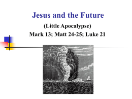 Jesus and the Future