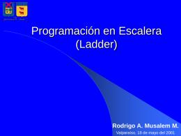 Programación en Escalera (Ladder)