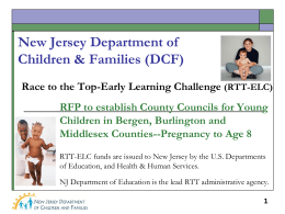 New Jersey Department of Children & Families