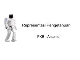 Representasi pengetahuan 1