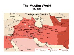 The Muslim World 622-1629