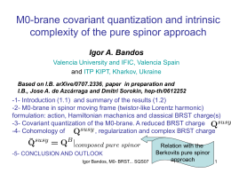 M0-brane covariant quantization and intrinsic