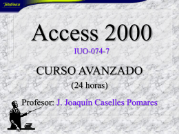 Ms Access'97 IU-054-6