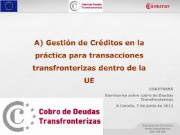 Diapositiva 1 - Cámara Comercio A Coruña