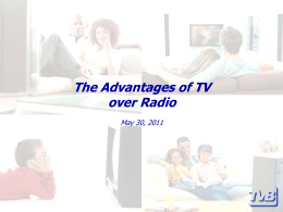 Television vs. Radio