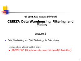Lecture 2  - Temple University