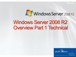 4-Doug-Spindler-Server-2008R2-P2-at-MSFT-SF-2009-1