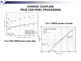 CHARGE COUPLING TRUE CDS PIXEL PROCESSING