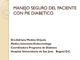 PIE DIABETICO - Centro Médico Imbanaco | Vocación