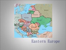 Eastern Europe - Rockvale Middle School