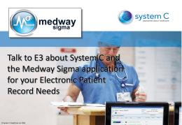 Medway sigma - E3 Corporation