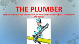 the plumber - Home page