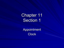 Chapter 11 Section 1 - Currituck County Schools