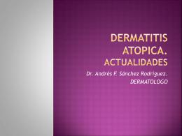 DERMATITIS ATOPICA. ACTUALIDADES