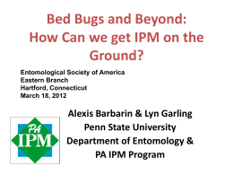 How to Implement Integrated Pest Management &